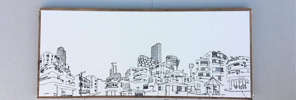 sewn sketch 80/34cm -
