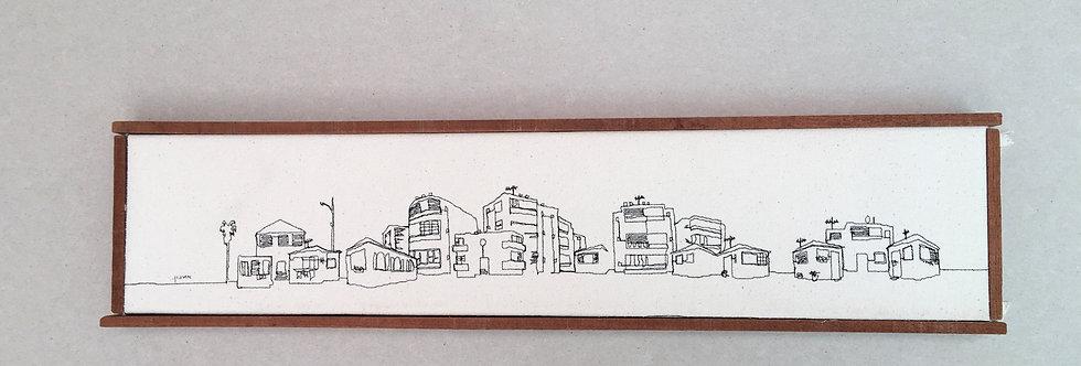 sewn sketch 52/12cm - tel aviv