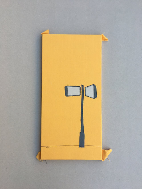 patchwork 50/25cm - tel aviv street sign