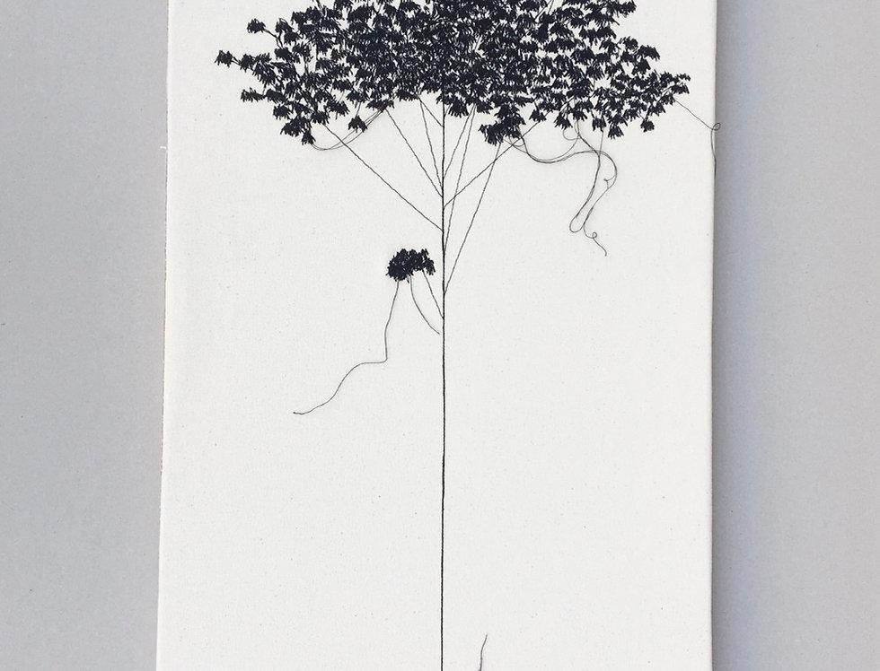 Sewn sketch 40/80cm - Roman tree