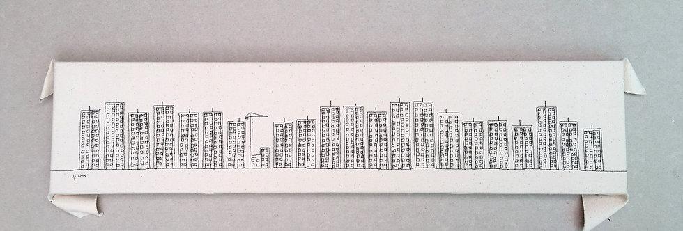 sewn sketch 62/15cm - 1000 windows