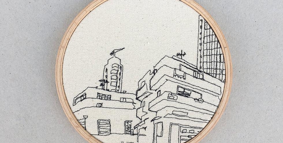 sewn sketch hoop14cm - bauahaus industrial area