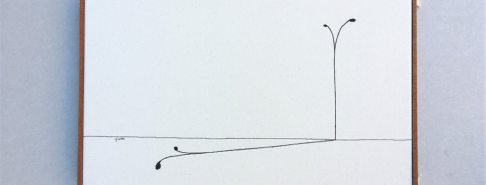 sewn sketch 34/54cm - lightpost