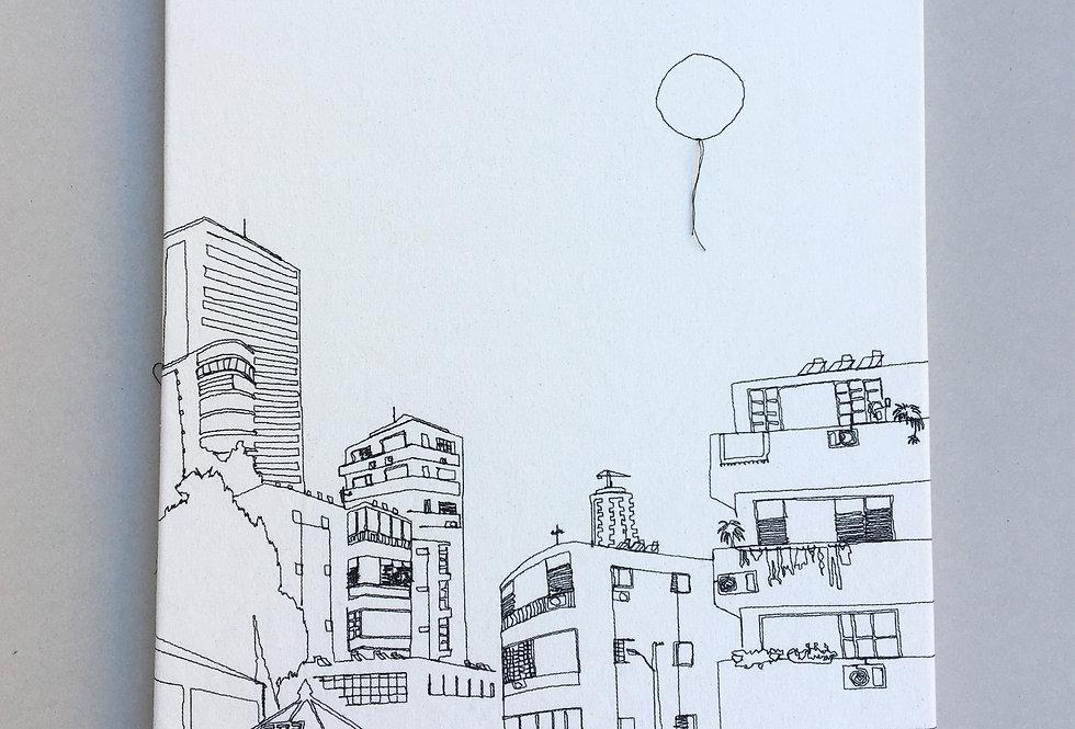 sewn sketch 62/45cm