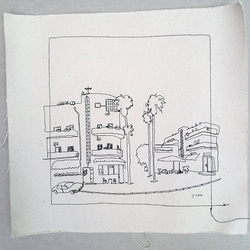 sewn sketch 22/22cm- washington blvrd.