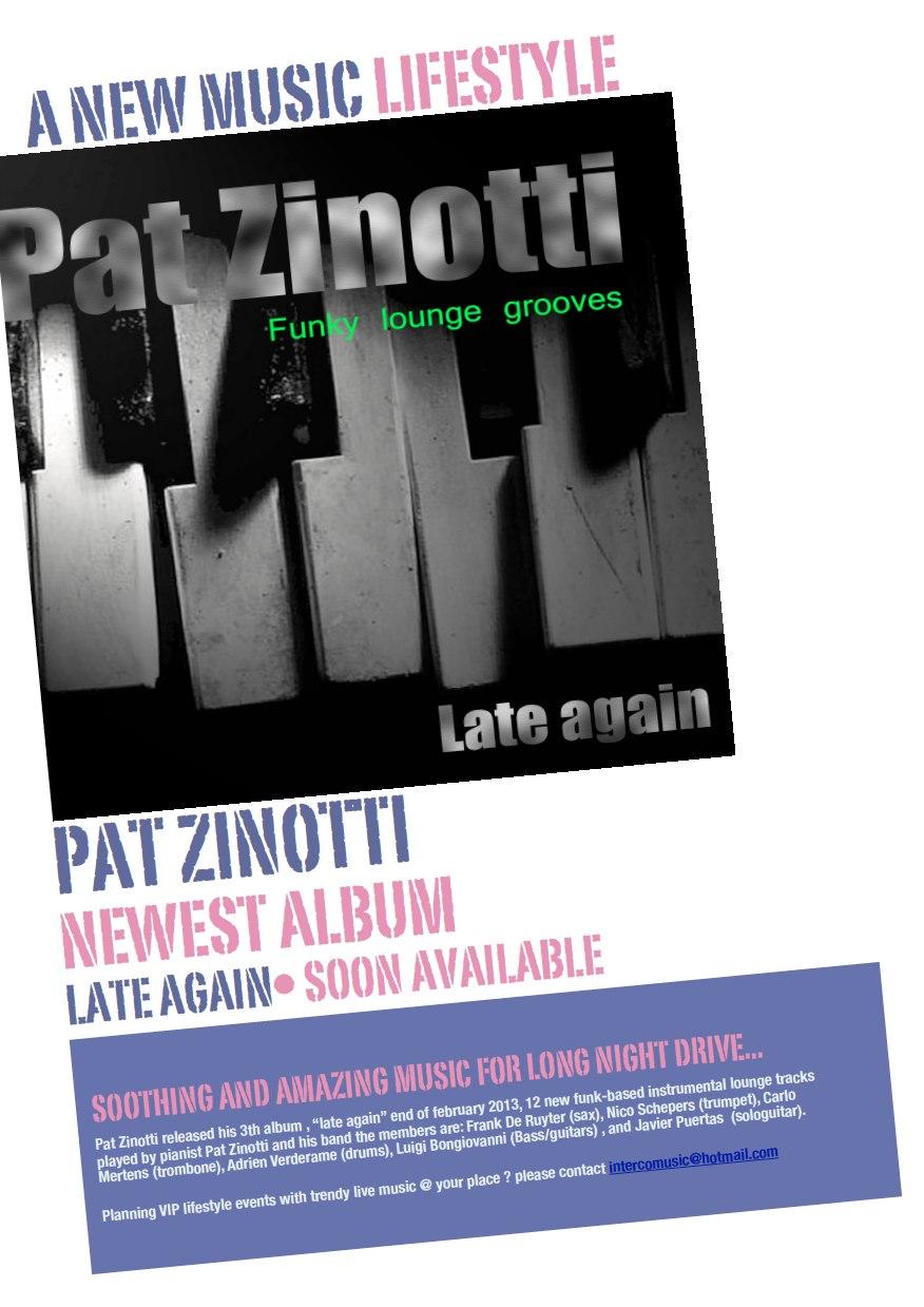 Zinotti 3de CD voorstelling