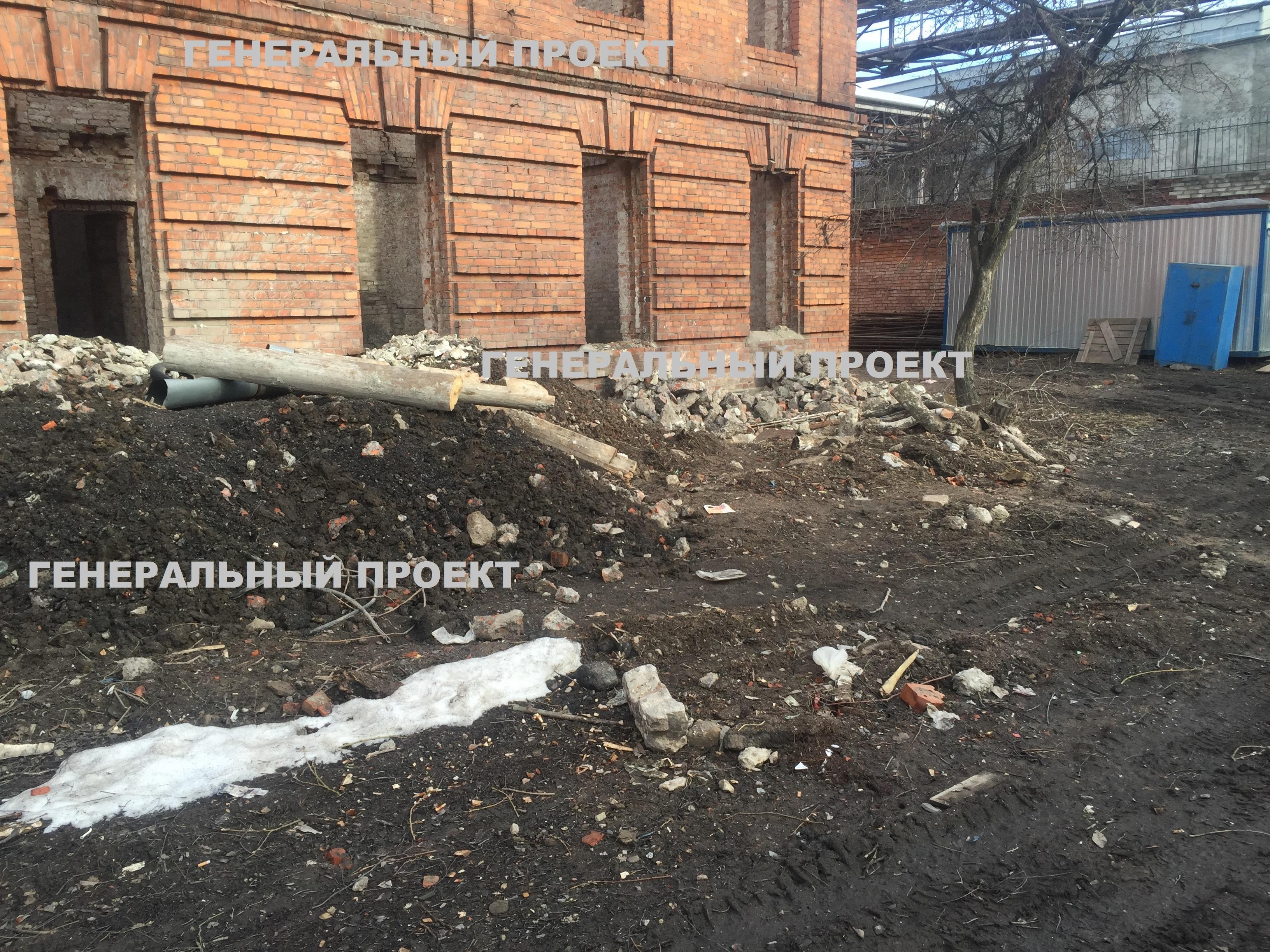 Откопка и реконструкция подвалов