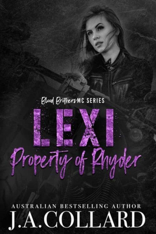 Lexi, Property of Rhyder