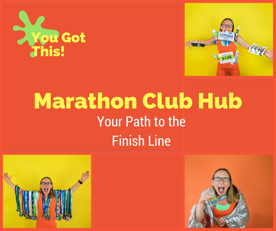 Marathon Club Hub your path to the finish-line