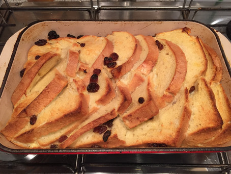 Run Recovery Bread and Butter Pudding