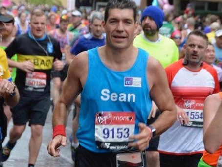 Meet our VLM19 Marathoners #6:  Sean