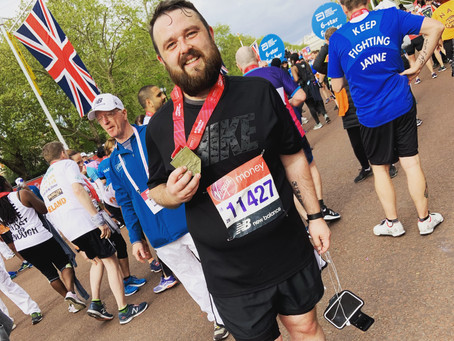 Meet our VLM19 Marathoners #32: Christopher