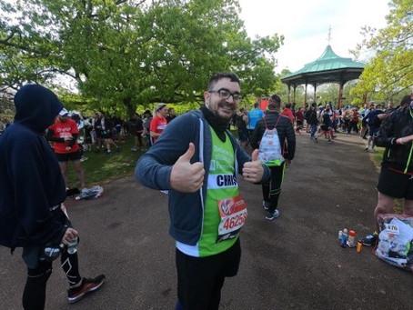 Meet our VLM19 Marathoners #29:  Chris