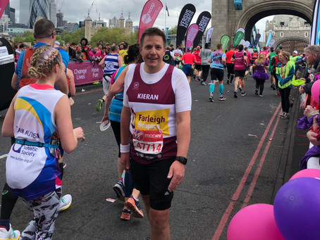 Meet our VLM19 Marathoners #25:  Kieran