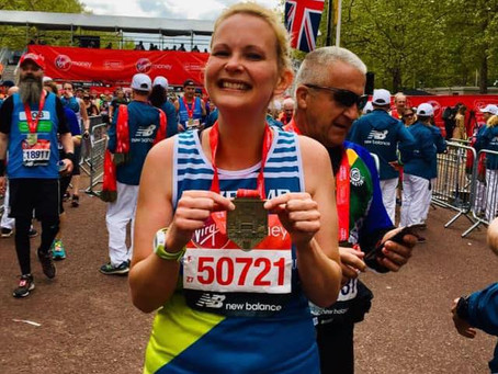 Meet our VLM19 Marathoners #5:  Karen