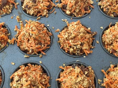 Carrot Cake Marathoner Muffins