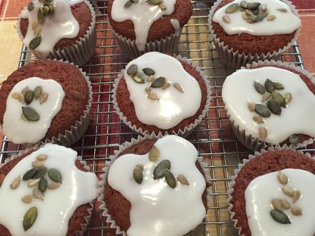 Mini Beetroot Seed Cakes
