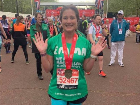 Meet our VLM19 Marathoners #23:  Emma