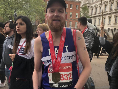 Meet our VLM19 Marathoners #12:  Matt
