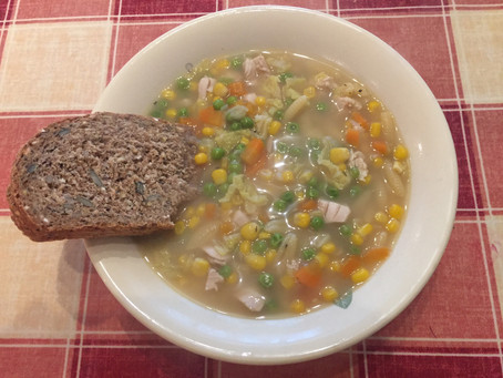 Leftovers Chicken Soup