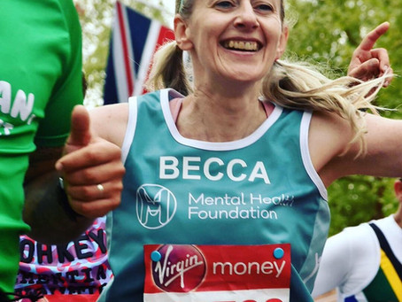 Meet our VLM19 Marathoners #27:  Rebecca