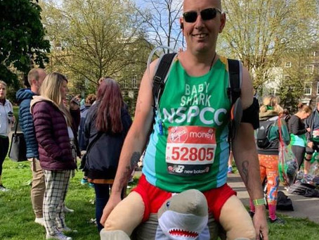 Meet our VLM19 Marathoners #10:  Jay (Baby Shark)