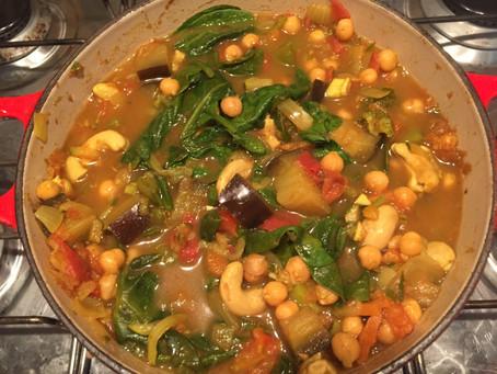 Zipping Veggie Curry