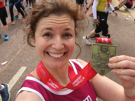 Meet our VLM19 Marathoners #22:  Kate