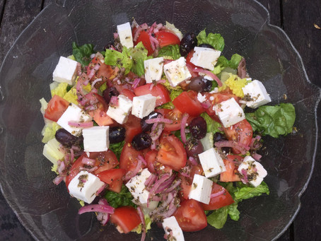 My Greek-Style Salad