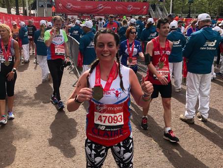 Meet our VLM19 Marathoners #30:  Claire