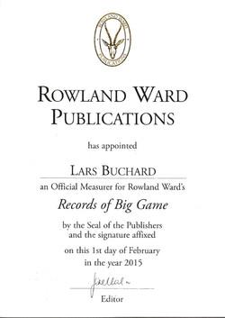 Rowland Ward 2015 Lars Buchard