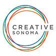 Creative Sonoma transparent gray letters