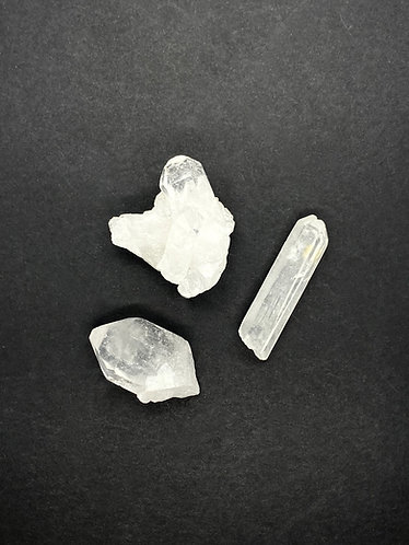 Rough Clear Quartz Collection