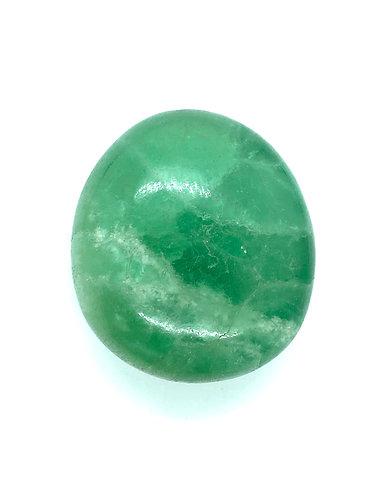 Large Fluorite Polished Pebble