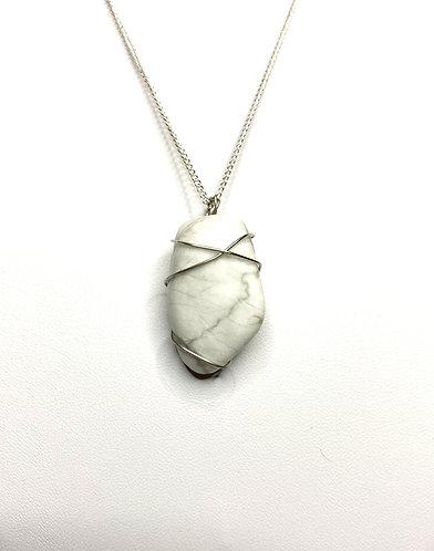 Howlite Wrap Necklace