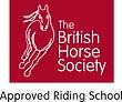 British Horse Society Approved Rdig School Logo