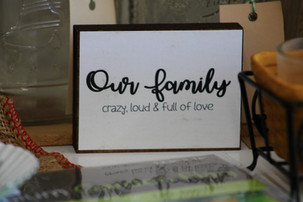 Fun & Funny Sign - Our Family