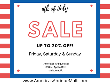 4th of July Sale & Customer Appreciation Giveaway!