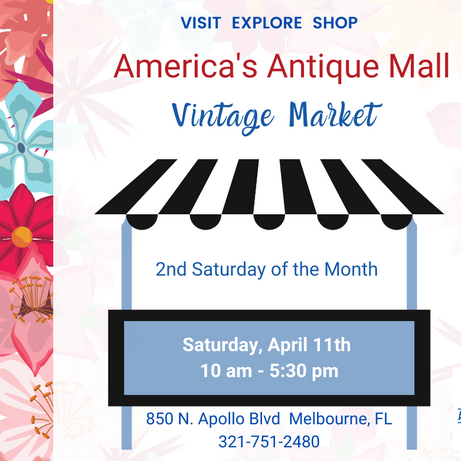 Vintage Market - Second Saturdays