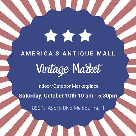 Indoor / Outdoor Vintage Market