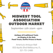 Midwest Tool Outdoor Market September 11th
