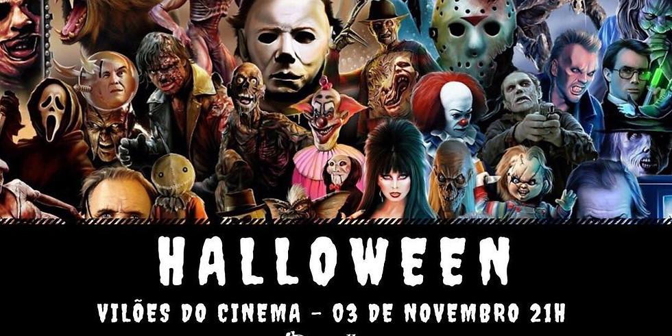Baile de Halloween - Vilões do Cinema