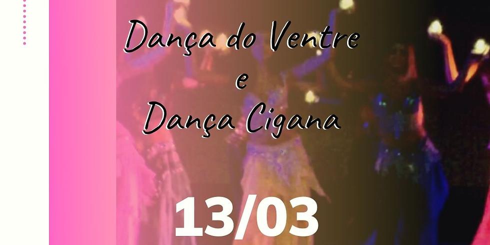 Workshop Dança do Ventre e Dança Cigana