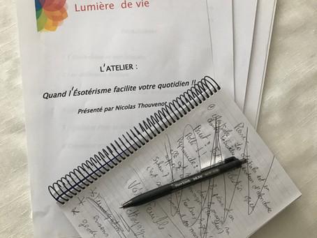 Atelier du 27 Octobre 2018