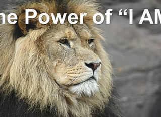 """Using the Power of """"I AM""""- Part Two"""