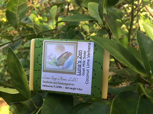 Luna's Zen Coconut Lime & Verbena