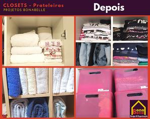 Organização Residencial - Closet e Prateleiras