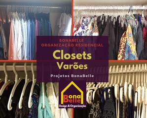 Organização Residencial - Closet Varões