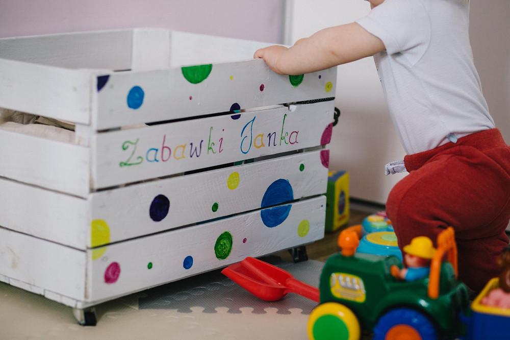As crianças desde cedo podem e devem aprender a organizar.