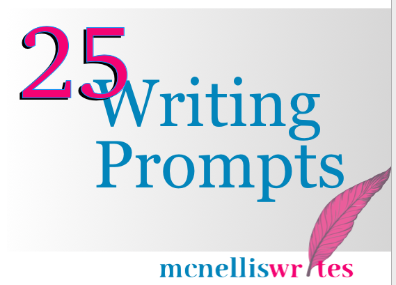 25 Writing Prompts Cover Image